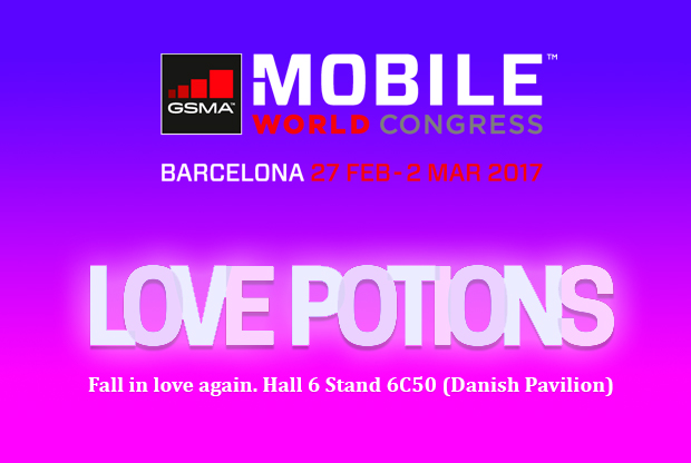 Seluxit Q Love Potions MWC17