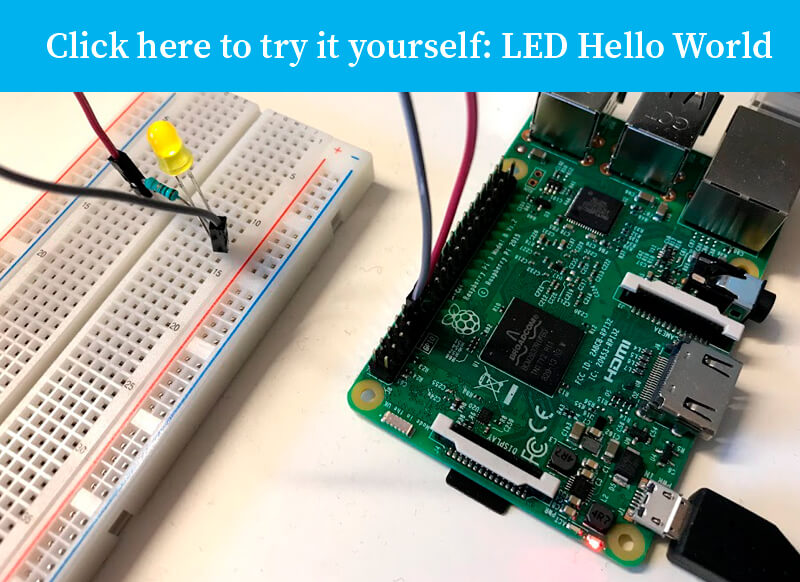 Seluxit IoT Rapid Prototyping LED hello world